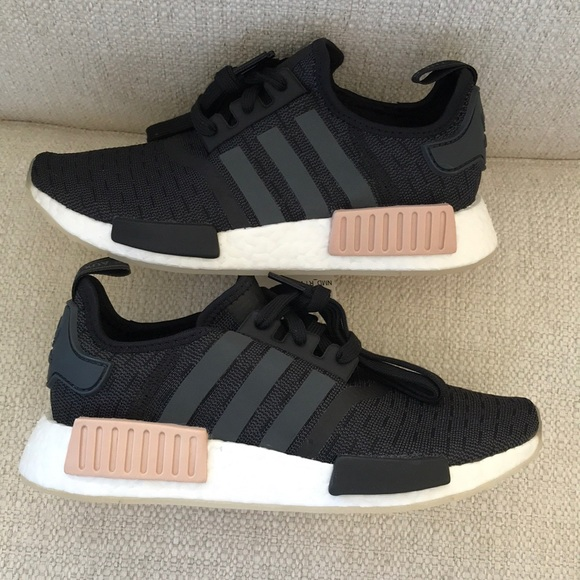 buy popular 2126e c71fc ... super quality Adidas nmd r1 core black carbon sneakers 18ed6 82152 ...